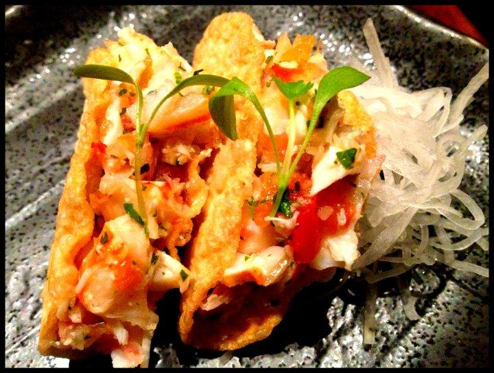 Nobu Lobster Tacos