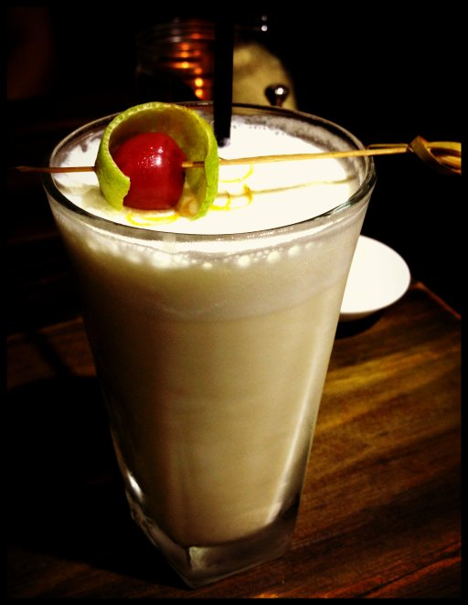 The Old Crow - Ramos Gin Fizz