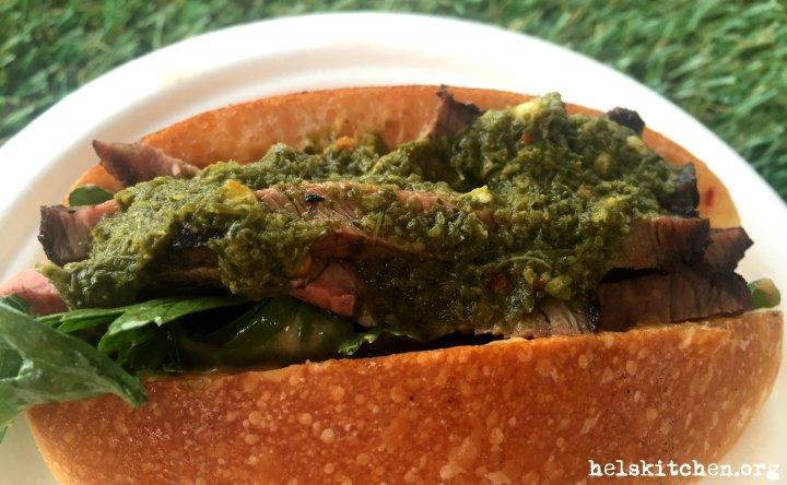 12 Asado - lomito - BBQ'd rump cap, loose leaf chimichurri, chipotle mayo, salsa criolla